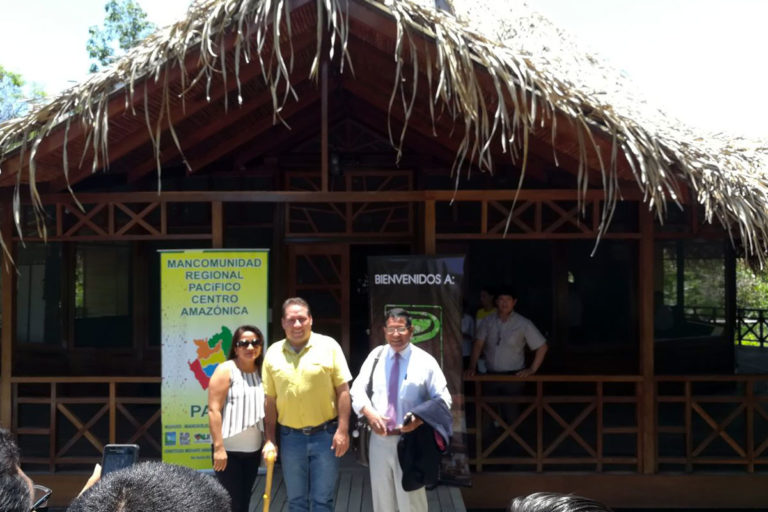 """Ecolodge """"UNI RAO"""" received the participants of the Commercial Union of Pacific Amazon regions at the conference!"""