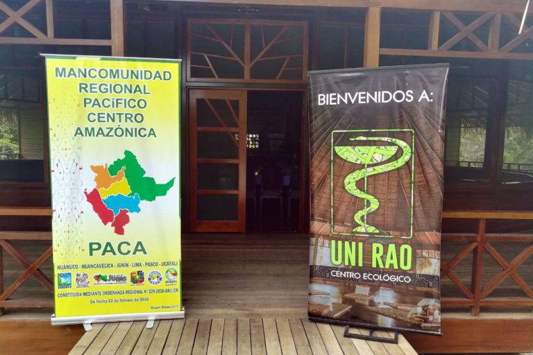 "Ecolodge ""UNI RAO"" received the participants of the Commercial Union of Pacific Amazon regions at the conference!"