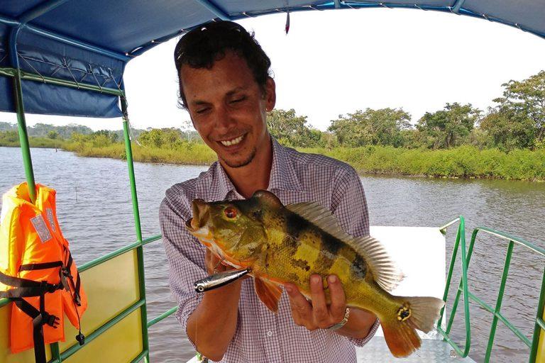 Sport Fishing on the Lagoon Cashibococha