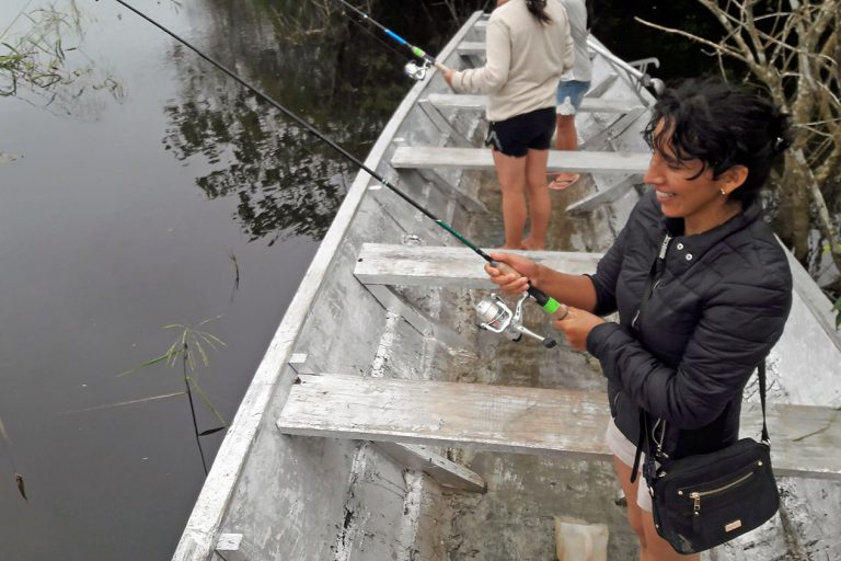 Спортивная рыбалка на Лагуне  Кашибокоча