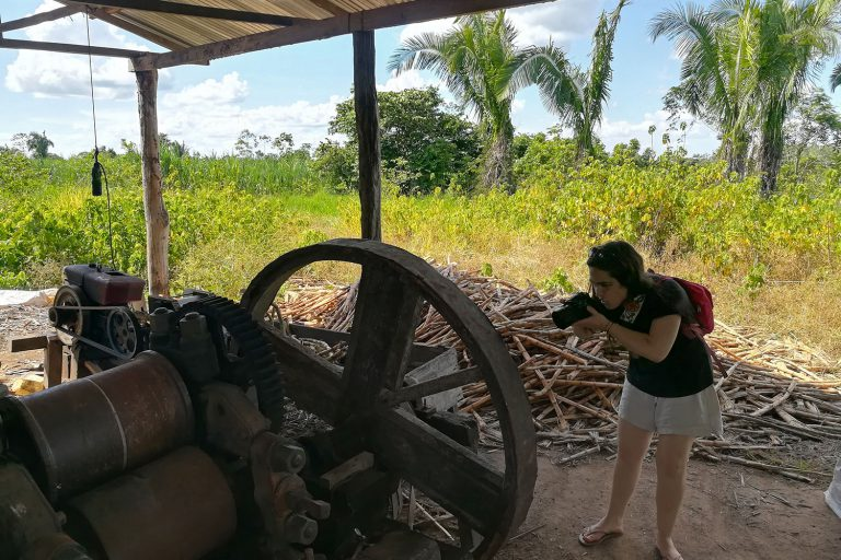 """Visit to the production artezanal of distilled liqueur from sugar cane """"Fundo Rubitsa"""""""