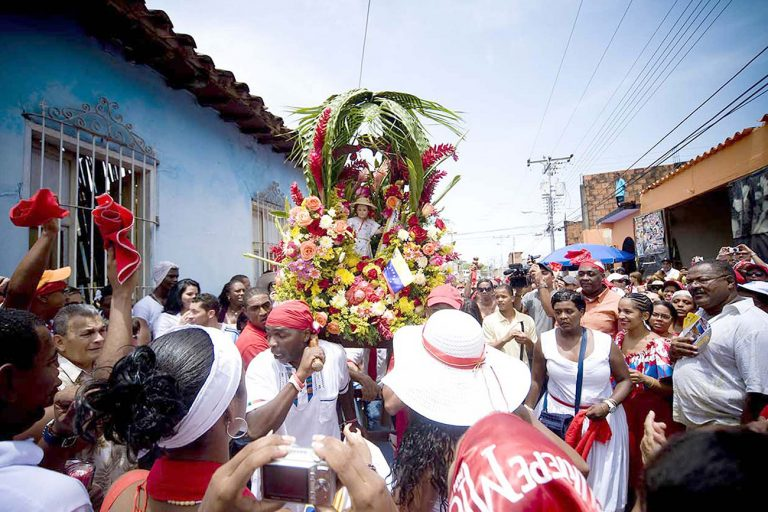 "Fiesta ""SAN JUAN"" in Peruvian"