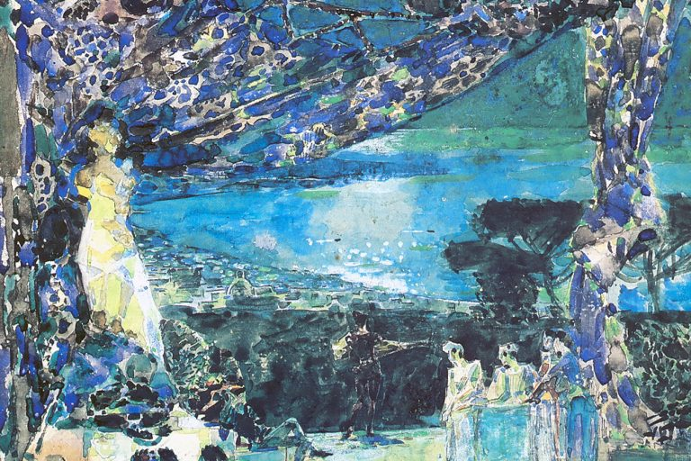 Mikhail Vrubel, «Night in Italy».